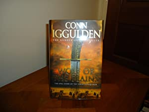 WOLF OF THE PLAINS+++SIGNED+++CONQUEROR SERIES BOOK ONE+++FIRST: CONN IGGULDEN (SIGNED)