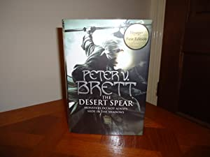 THE DESERT SPEAR++SIGNED DATED EMBOSSED NUMBERED LIMITED: PETER V BRETT