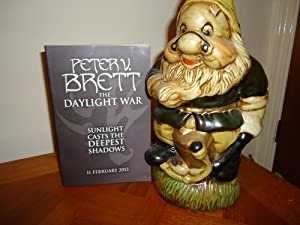 THE DAYLIGHT WAR+++SIGNED+++A SUPERB UK UNCORRECTED PROOF: PETER V. BRETT