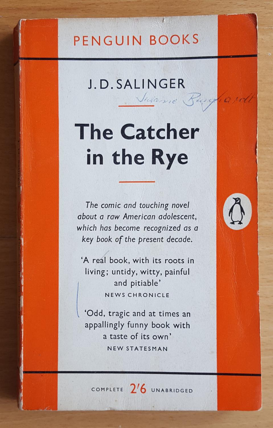 catcher in the rye book notes essay Salinger's the catcher in the rye has served as a firestorm for  about this 1982  joni analysis essay woodstock mitchell rhino lp, most of it.