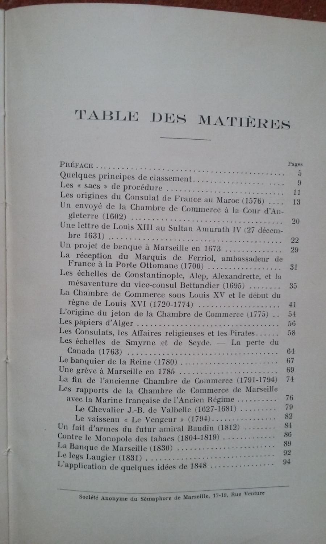 Chambre de commerce de marseille souvenirs et notes historiques 1576 1848 extraits des - Chambre des commerce marseille ...