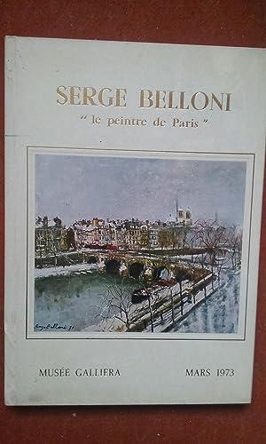 """Serge Belloni, """"Le peintre de Paris et: Collectif"""