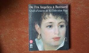 De Fra Angelico à Bonnard - Chefs-d'œuvre: RESTELLINI Marc (sous