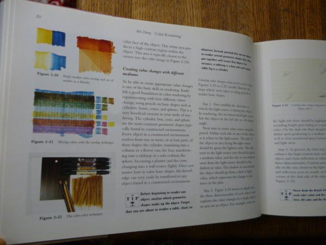 Color Rendering A Guide For Interior Designers And Architects By Dong Wei Near Fine No Binding 1997 First Edition First Printing Gargoyle Books Ioba