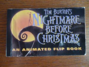 Tim Burton's Nightmare Before Christmas: An Animated Flip Book