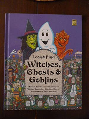 Look & Find Witches, Ghosts & Goblins: Gerrio, Bob