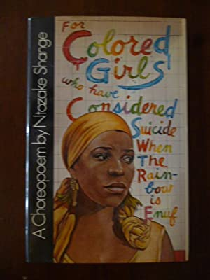 for colored girls who have considered suicide: Shange, Ntozake