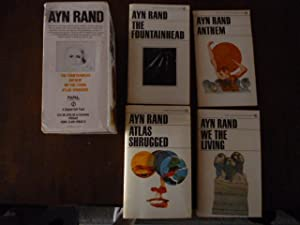 Ayn Rand Boxed Set: The Fountainhead, Anthem, We the Living, Atlas Shrugged