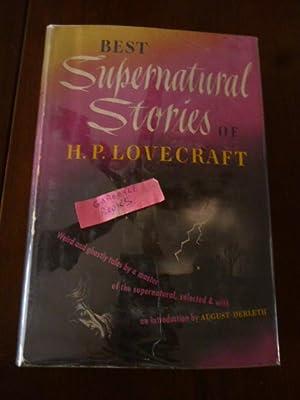Best Supernatural Stories of H.P. Lovecraft: Derleth, August (Ed);
