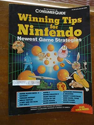 CONSUMER GUIDE WINNING TIPS FOR NINTENDO NEWEST GAME STRATEGIES