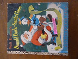 Walt Disney's Donald Duck and Santa Claus (A Little Golden Book)