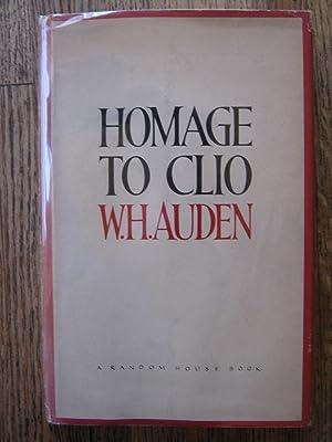 Homage to Clio: Auden, W. H.