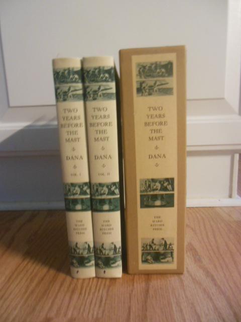 Two Years Before the Mast: Volume One, Volume Two in Slipcase: Dana, Richard Henry Jr.