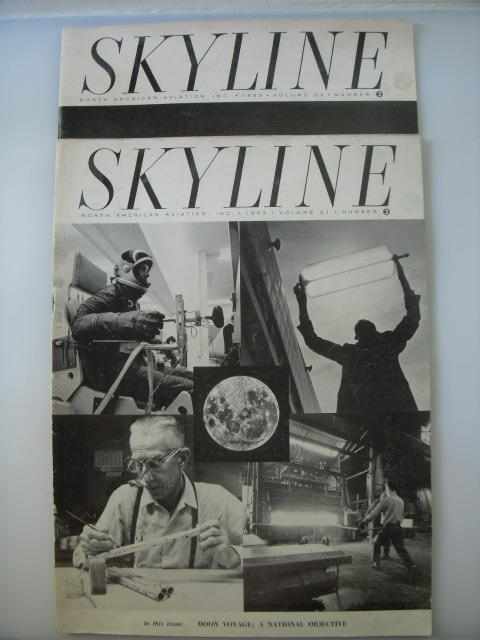 Skyline Magazine (Two Issues 1963, 1965 Apollo): A.R. Sorrells (editor)