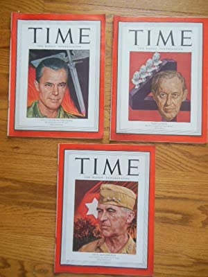 Time Magazine January 15, 22, 29, 1945 (Three Consecutive Issues)