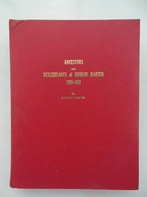 Ancestors and Descendants of George Harter 1800-1869: Harter, Fayne E