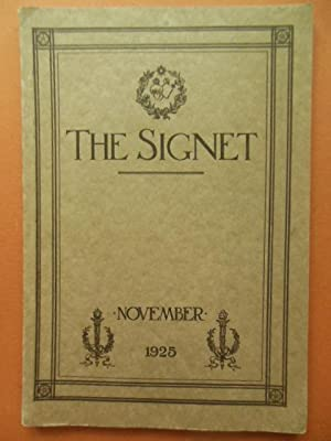 The Signet Magazine of the Federated Alumnae of the Sacred Heart in the United States and Canada ...