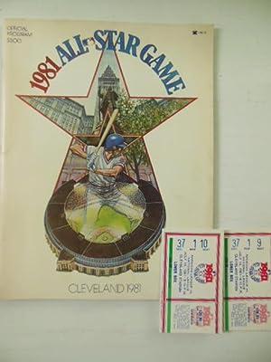 Official Program 1981 All-Star Game, Cleveland American: Reichler, Joe
