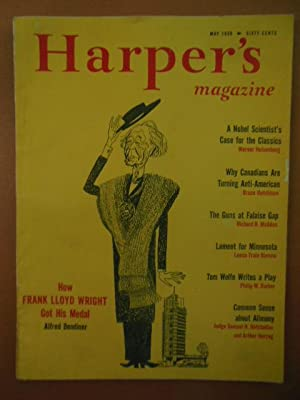 Harper's Magazine May, 1958