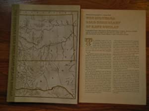The Montana Gold Rush Diary of Kate Dunlap (Publisher's Insert Laid-in_: Rosenstock,. Fred A.