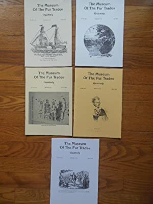 The Museum of the Fur Trade Quarterly 1996 (Full Run Vol. 32 Nos,1,2,3,4 Plus Vol. 31 No 4)