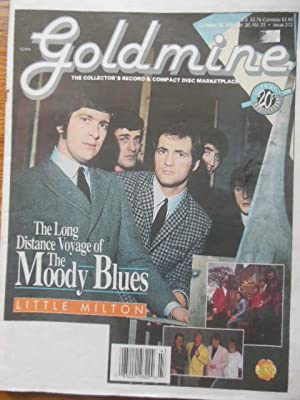 The Goldmine Magazine October 28, 1994 20th Anniversary Issue (The Moody Blues)