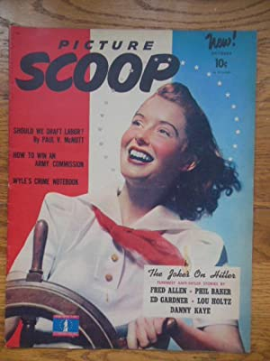 Picture Scoop Magazine October, 1942 (1st Issue)