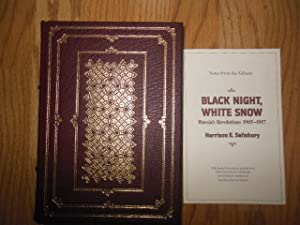 Black Night, White Snow; Russia's Revolutions 1905-1917 (1st Ed.; Notes From the Editors ...