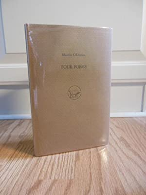 Four Poems (Martin O Direain SIGNED Limited Edition): O Direain, Mairtin