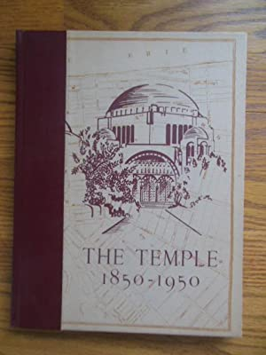 The Temple 1850-1950; Congregation Tifereth Israel (Cleveland)