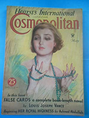Hearst's International Combined With Cosmpolitan Magazine, May, 1934 (Harrison Fisher Cover Art)