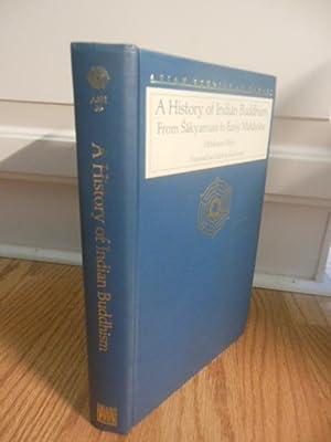 A History of Indian Buddhism: From Sakyamuni to Early Mahayana (Asian Studies at Hawaii): Akira, ...