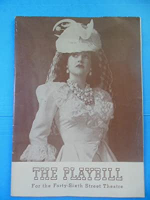 Panama Hattie: Playbill for the Forty-Sixth Street Theatre, 1941 Ethel Merman, Arthur Treacher, ...