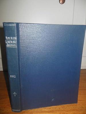 Genealogy: A Journal of American Ancestry Volume One 1912: Weeks, David; James, Jamie