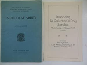 Inchcolm Abbey Official Guide 1929: Paterson,