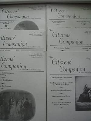 The Citizen's Companion ; The Voice of Civilian Reenacting (Volume VIII -- Full Run, Six issues)
