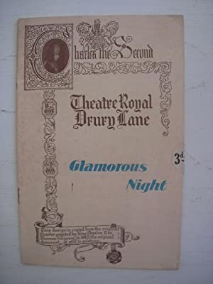Theatre Royal Drury Lane Programme; Glamorous Night: Ellis, Mary