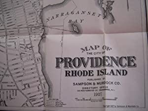 Fingerpoint Map of Providence Rhode Island
