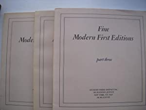 The Collection of Jonathan Goodwin; Important & Fine Modern First Editions. With Autograph ...