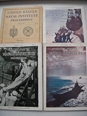 United States Naval Institute Proceedings 1949 (Four Issues, Jan. March, April, Nov.)