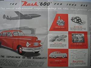 You'll Be Ahead with Nash 1946 Nash Brochure: No Author