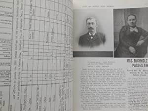 Ancestors and Descendants of Johann Georg Buchholz and Maria Magdalena Weber Late 1600's -1982...