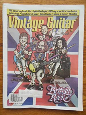Vintage Guitar Magazine October 1997