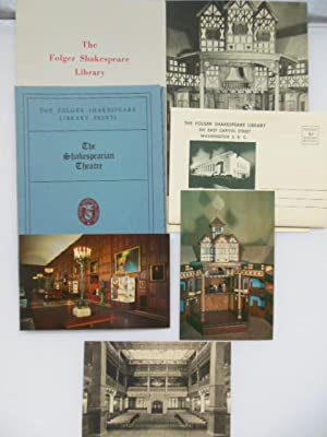 The Folger Shakespeare Library Ephemera (7 pieces): No Author