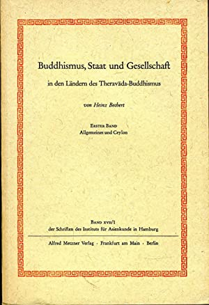 Bechert Buddhismus cover art