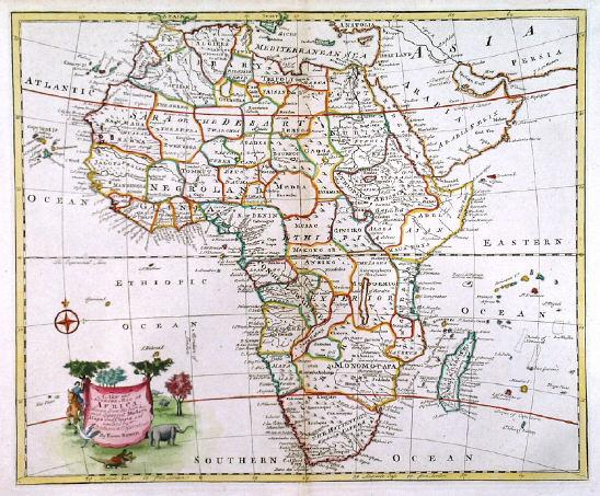 Accurate Map Of Africa.A New And Accurate Map Of Africa Map Of Africa With Pictorial