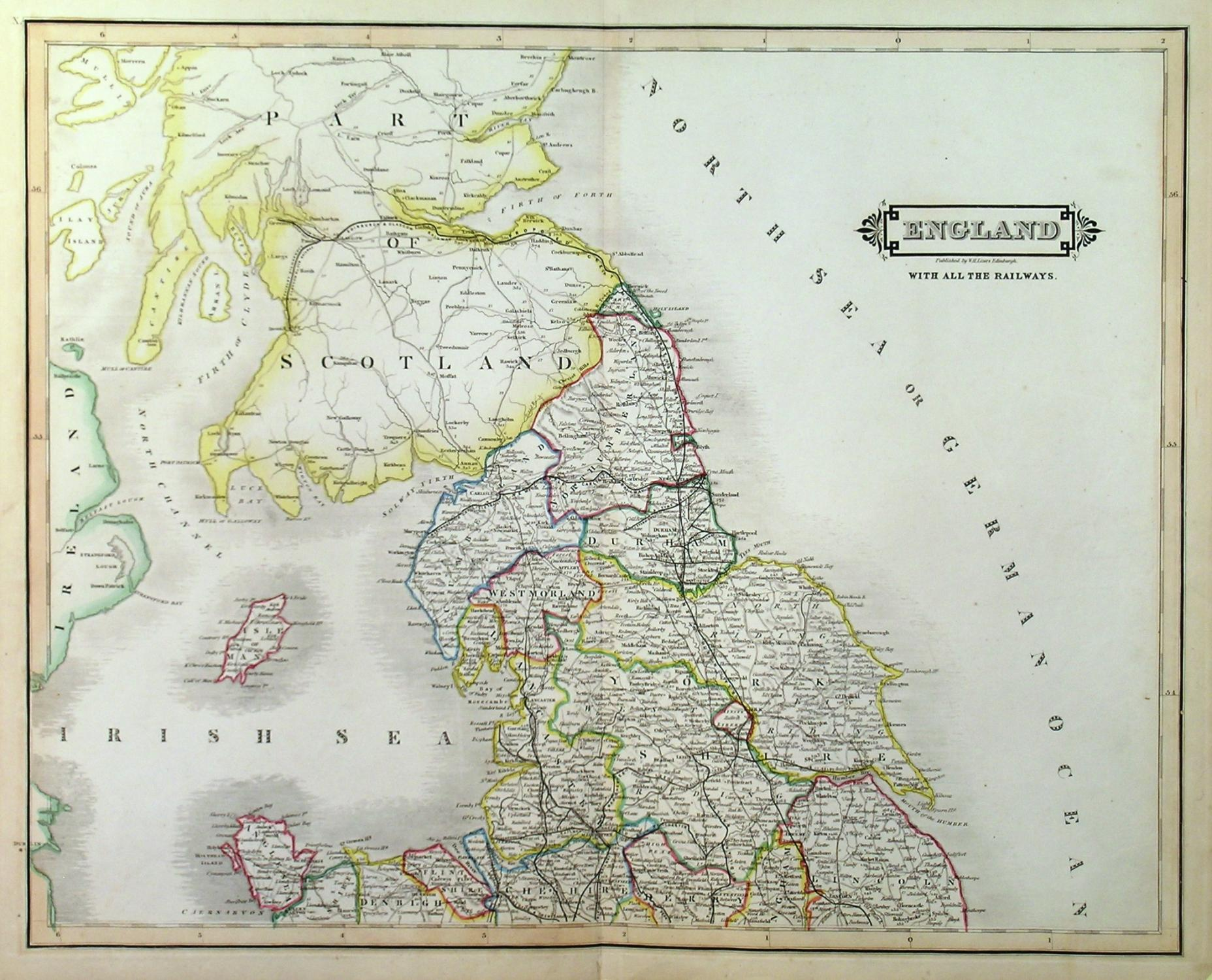 Large Detailed Map Of England.New Road Map Of England With All The Lines