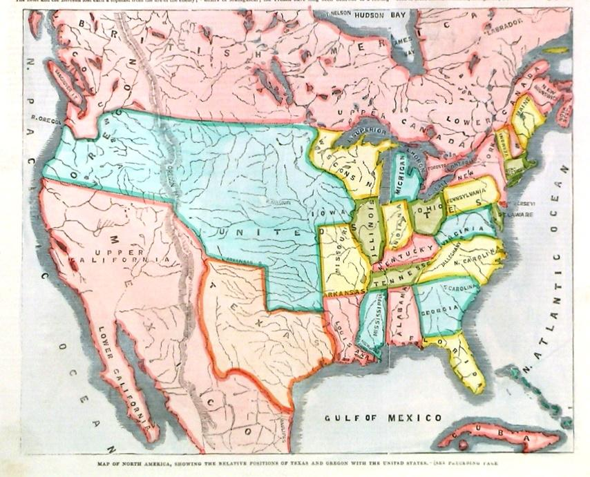 Map Of America Oregon.Map Of North America Showing The Relative