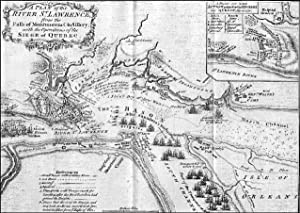 ?A PLAN OF THE RIVER ST. LAWRENCE, FROM THE FALLS OF MONTMORENCI TO SILLERY; WITH THE OPERATIONS ...