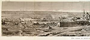 PANORAMIC VIEW OF CAIRO . A superb prospect of Cairo with the Mosque of the Citadel, built in Ala...